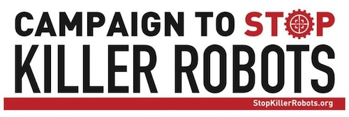 Stop Killer Robots campaign logo